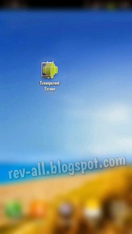 Ikon Transparent Screen - aplikasi android untuk menjadikan layar transparan (rev-all.blogspot.com)