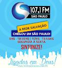 Ouça a Rádio 107.1 Fm em São Paulo a Rede Salvação