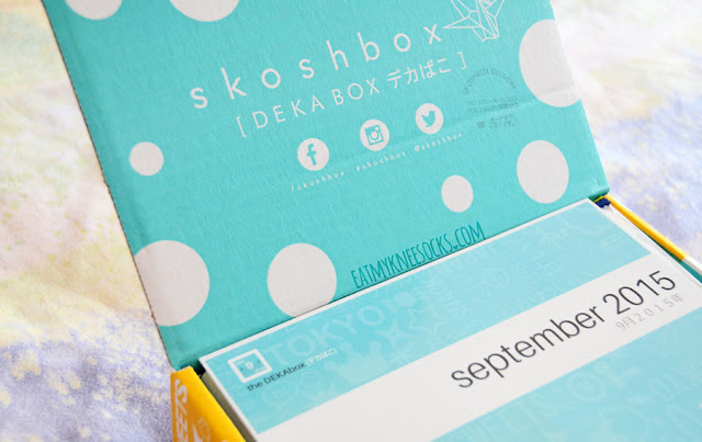 Skoshbox's monthly Japanese snacks and sweets subscription box comes with many unique, adorable, tasty treats in a cute package.