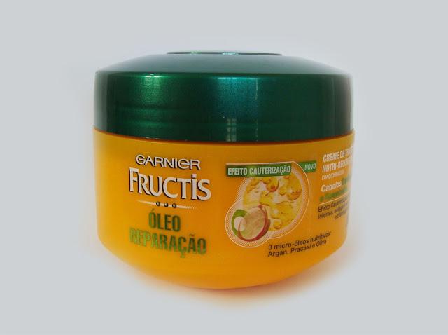 Creme de Tratamento Óleo Reparação Garnier Fructis