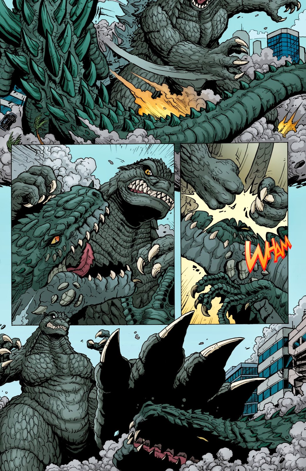 the x database godzilla rulers of earth 0102 2013