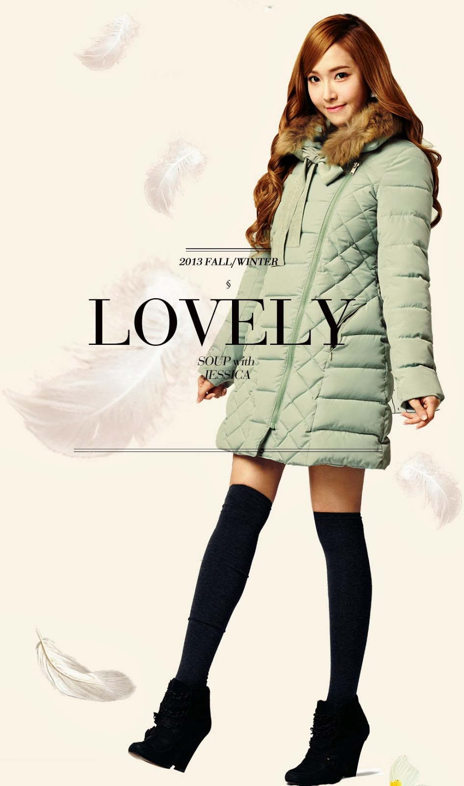 Jessica Snsd Winter Collection 14 Wallpapers