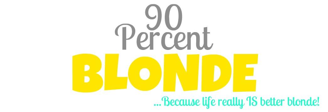 90 Percent Blonde