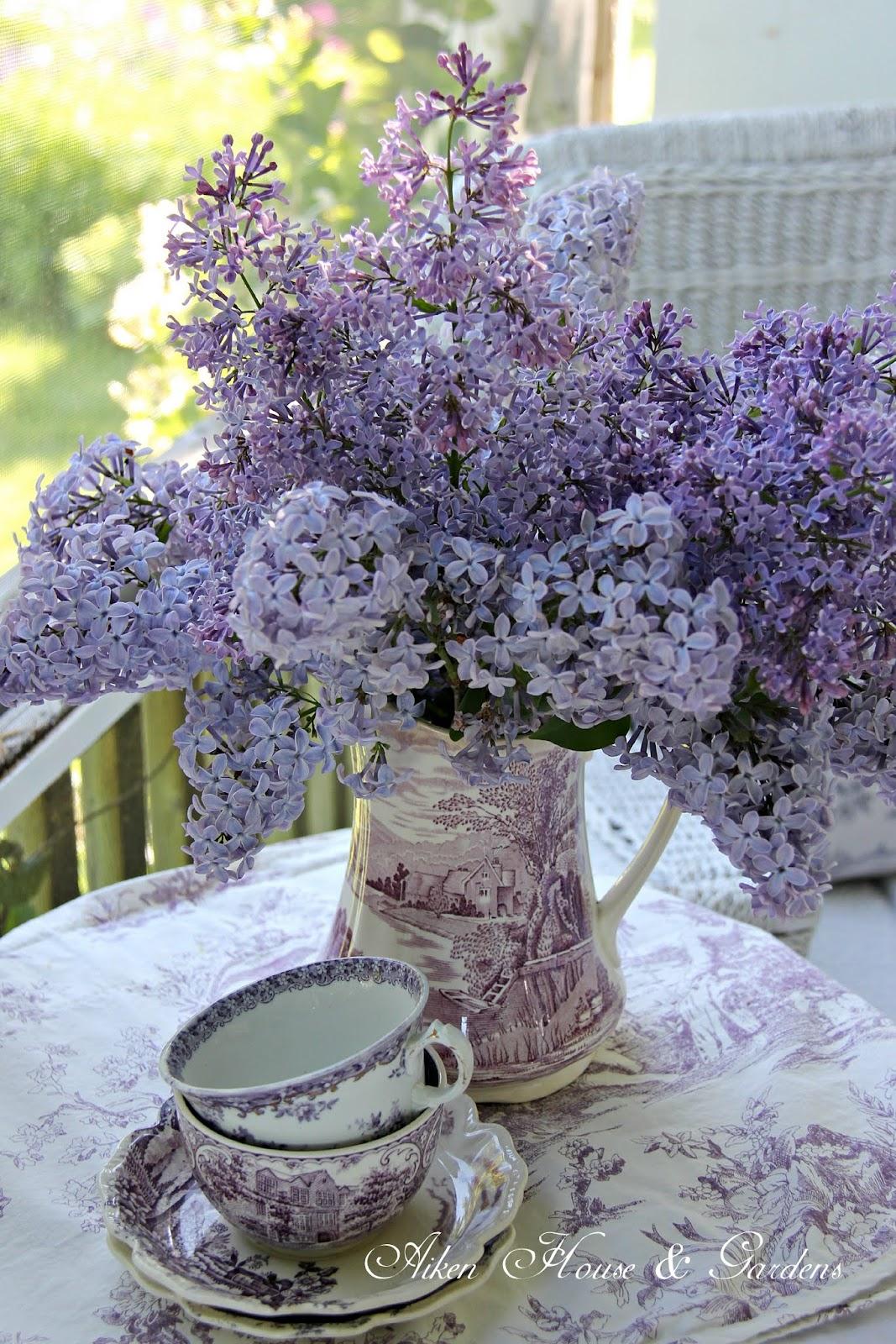 Aiken house gardens tea time a year in review for Bouquet de fleurs 2016