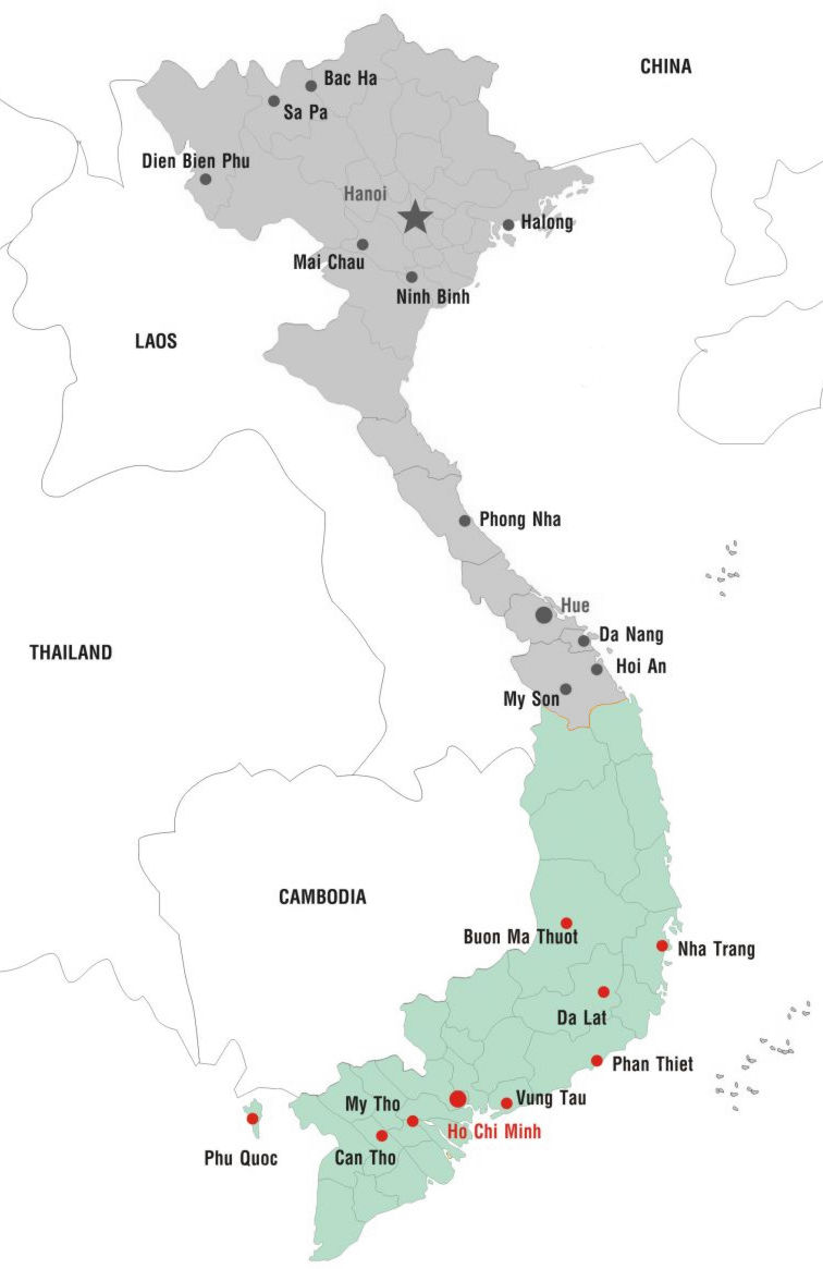 Cities of South Vietnam