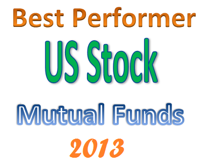 Best Performing U.S. Stock Mutual Funds 2013