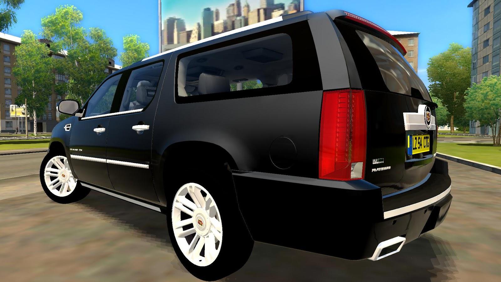 City Car Driving Cadillac Escalade Game