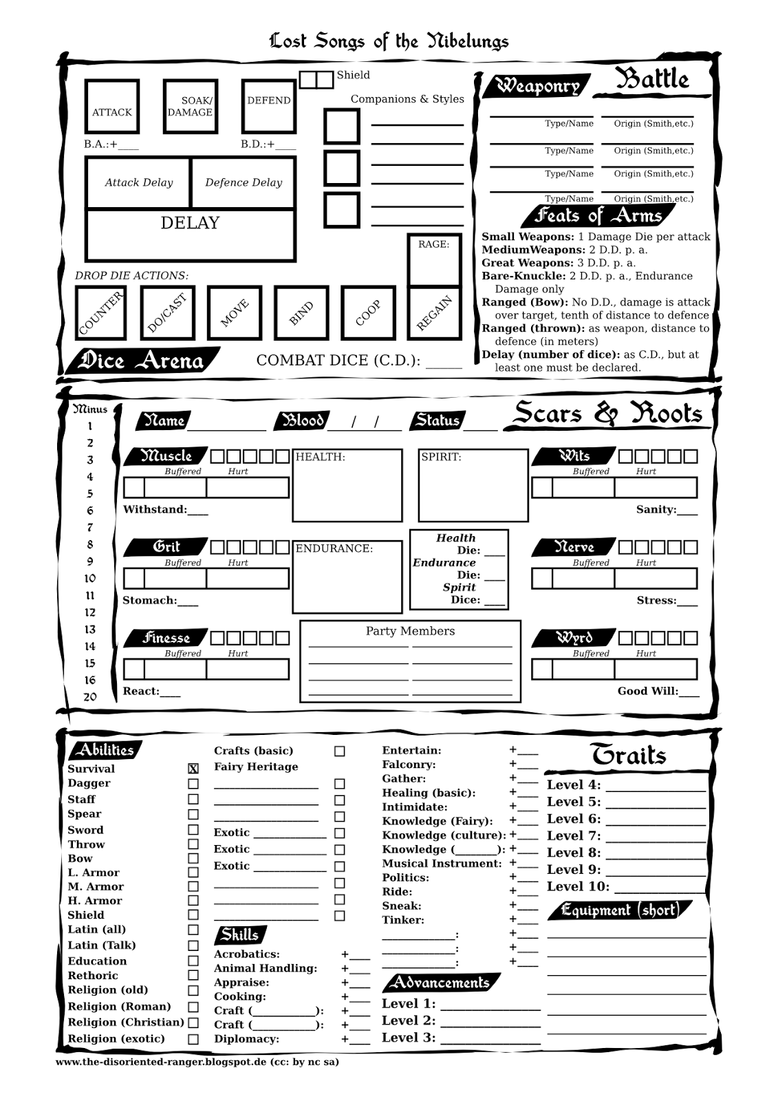 Mage The Ascension Character Generator Free Online