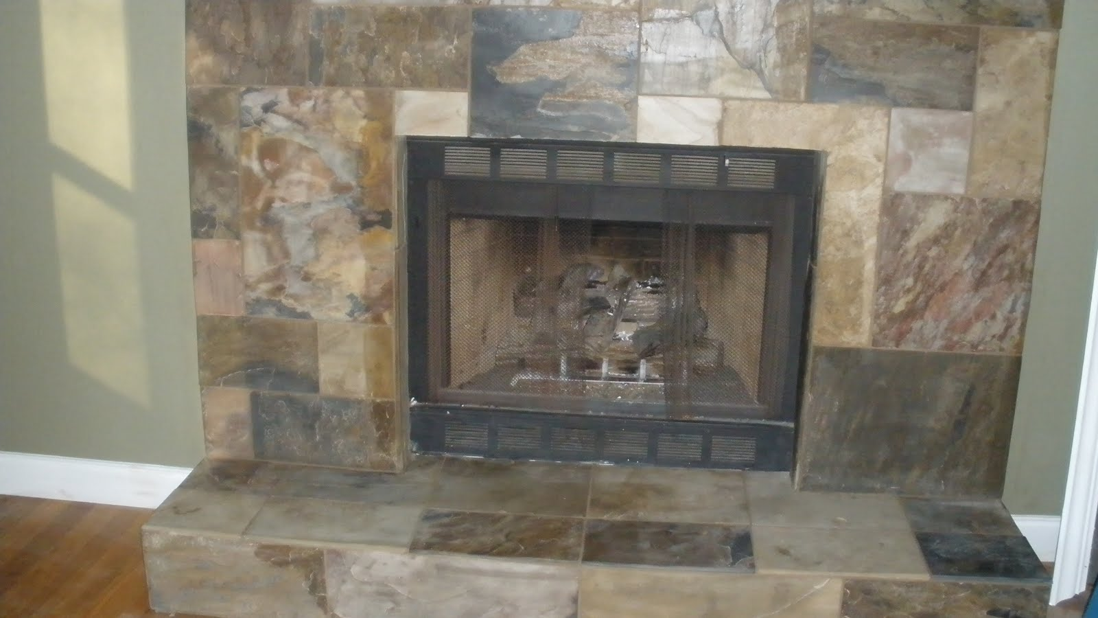 Slate Fireplace Tile Amp Stone By Design Llc Kerdi