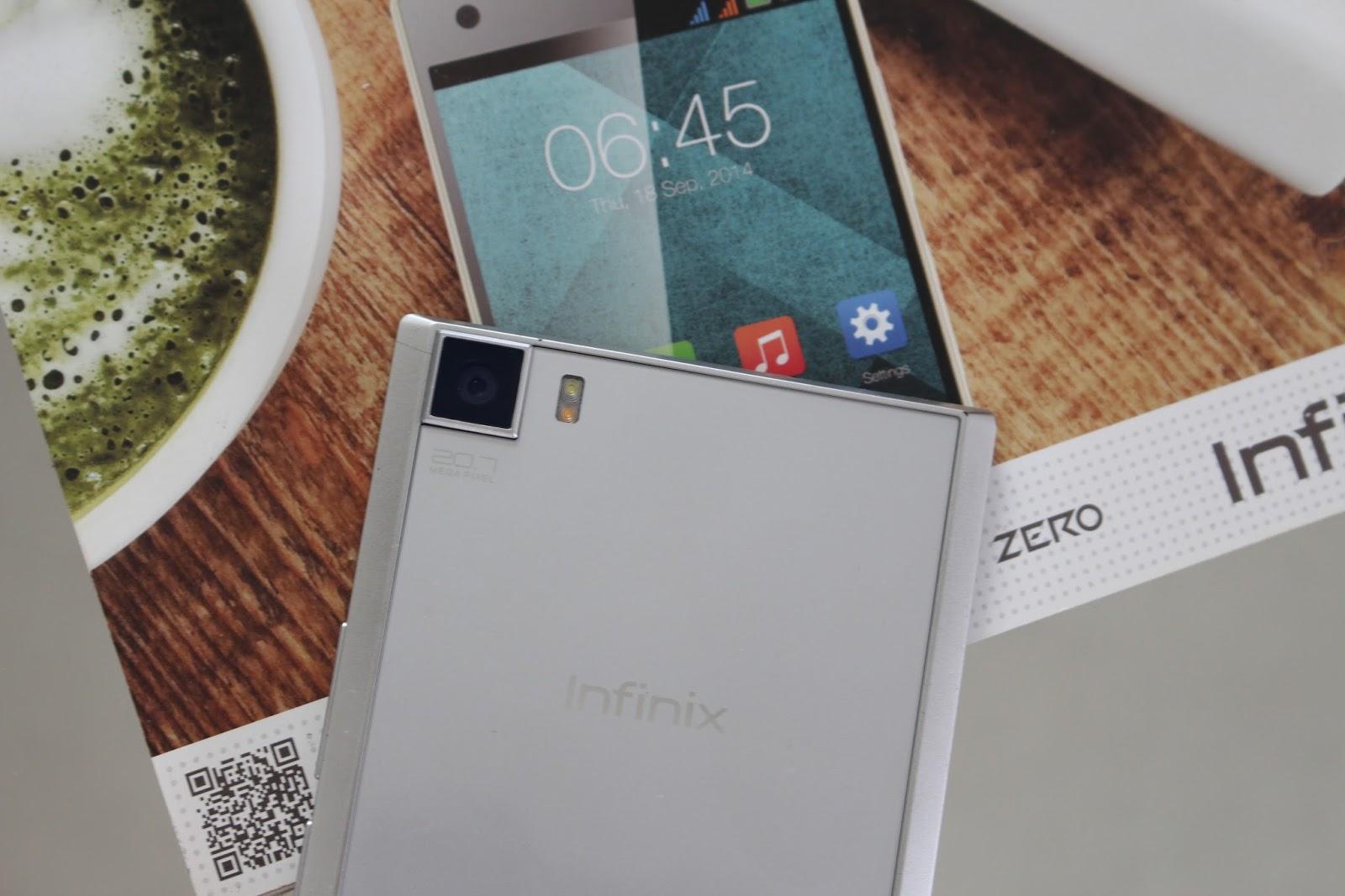 المواصفات التفصيلية واستعراض سريع وسعر هاتف infinix zero 3