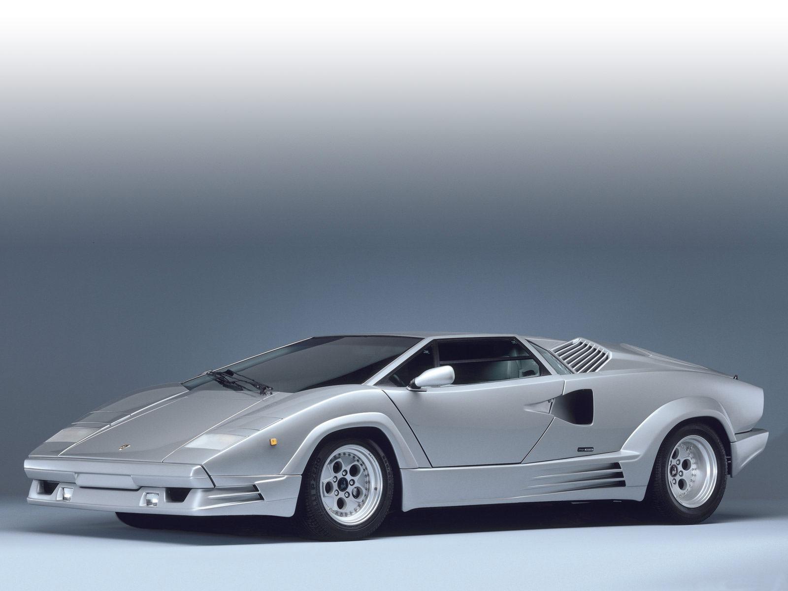 1989 Lamborghini Countach 25th Anniversary Pictures
