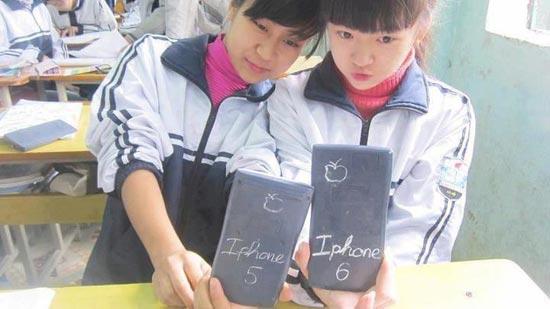 Hinh anh vui nhon Iphone 5