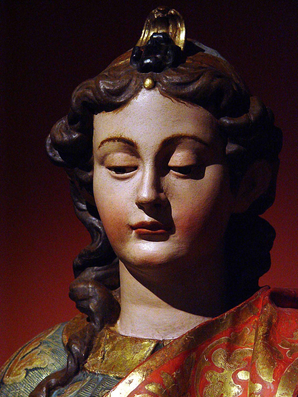 rostro de santa eulalia separ cantilene e himno