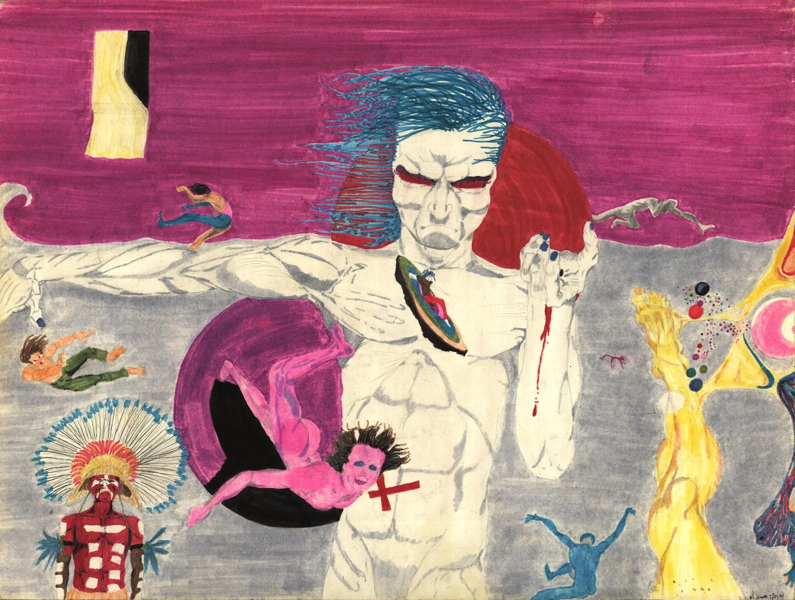 pictures AnAustrian Artist Was Sentenced toJail for His Provocative Illustrations, But HeDidn't Give UpDrawing the Truth