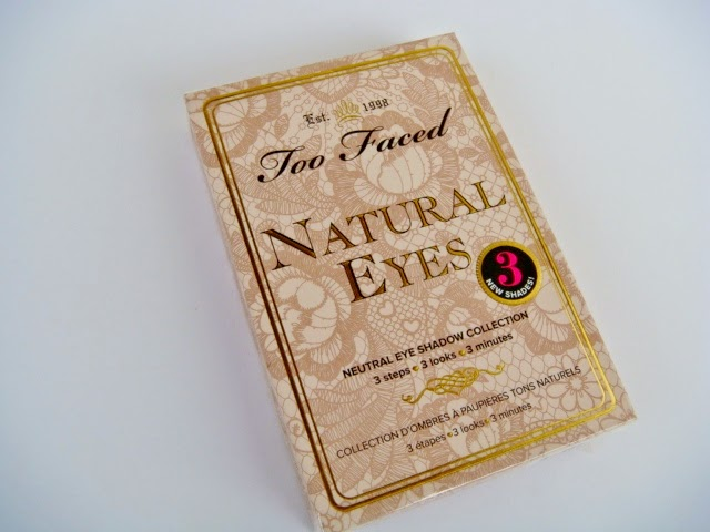 """Natural Eyes Neutral Eye Shadow Collection"" de Too Faced"