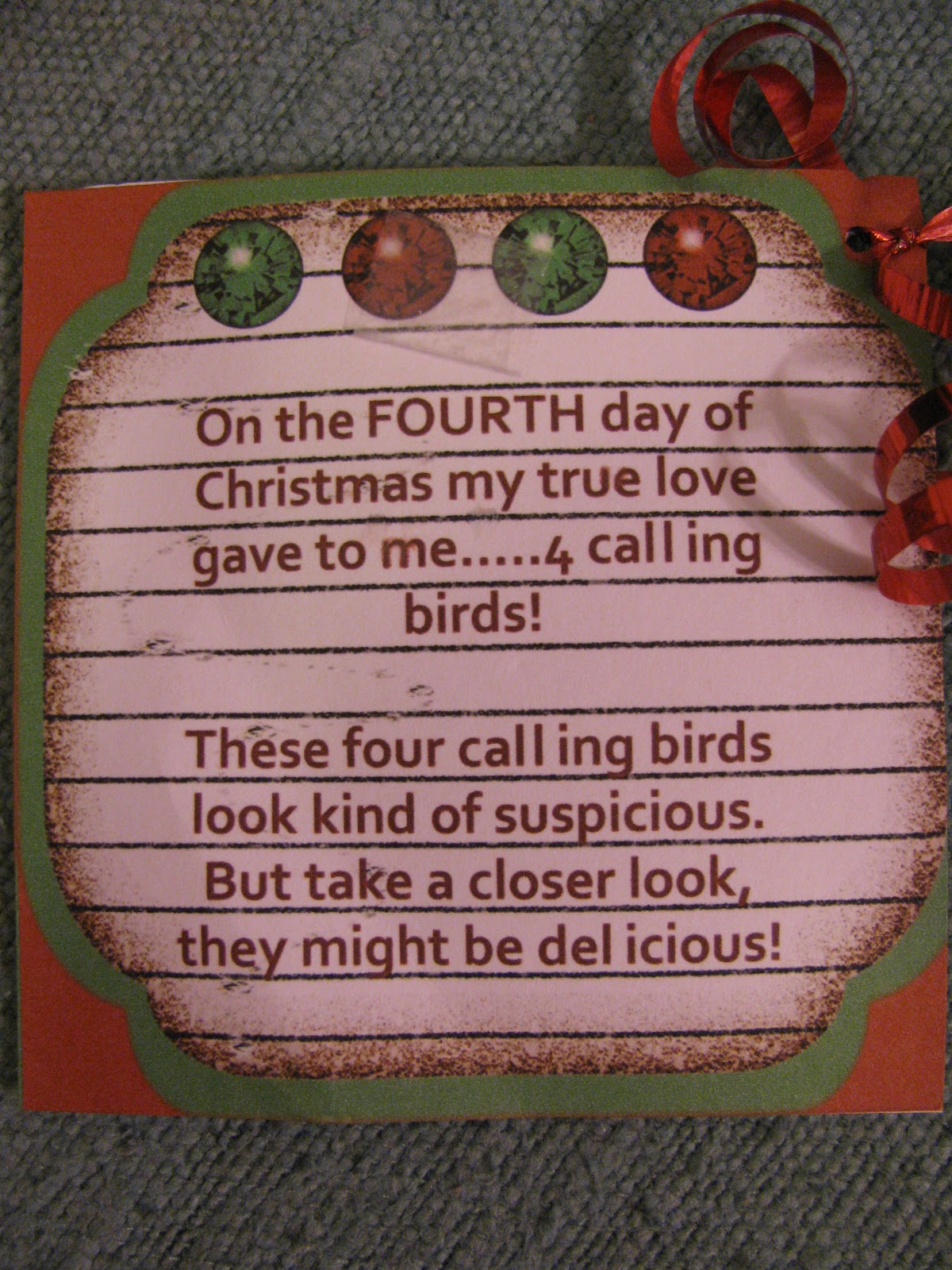 save - On The 12th Day Of Christmas Song