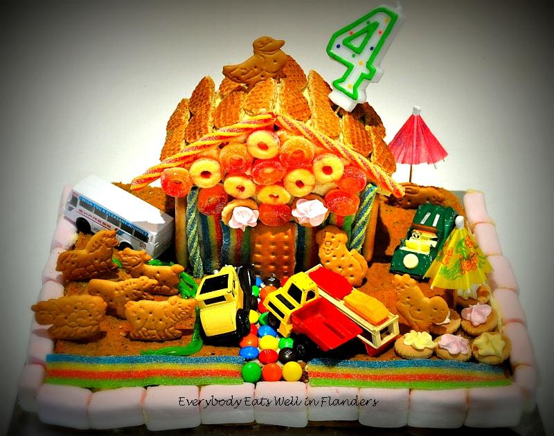 cake like house
