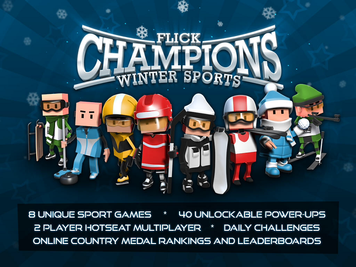 Flick Champions Winter Sports Main Game App