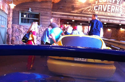 Radiator Springs Racers temporary shut down at Disney California Adventure