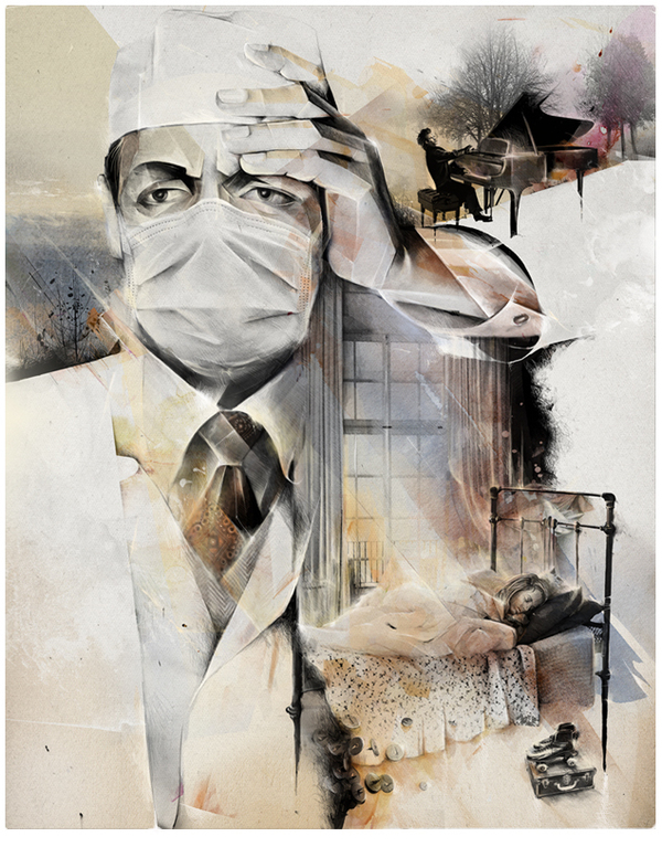 Doctor Ojiplático. Alexey Kurbatov. Лёша Курбатов. Ilustración