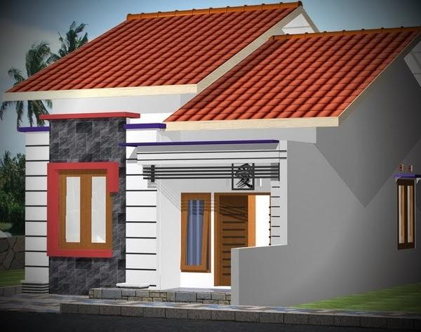 Gambar Desain Rumah Sangat Sederhana Terlengkap Pagar