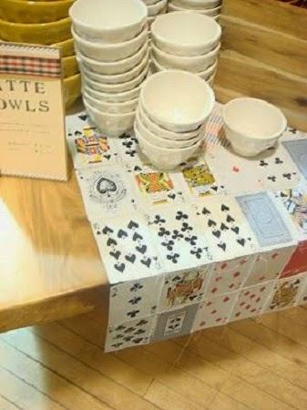 Caminos de mesa con papel reciclado - Caminos de mesa de papel ...