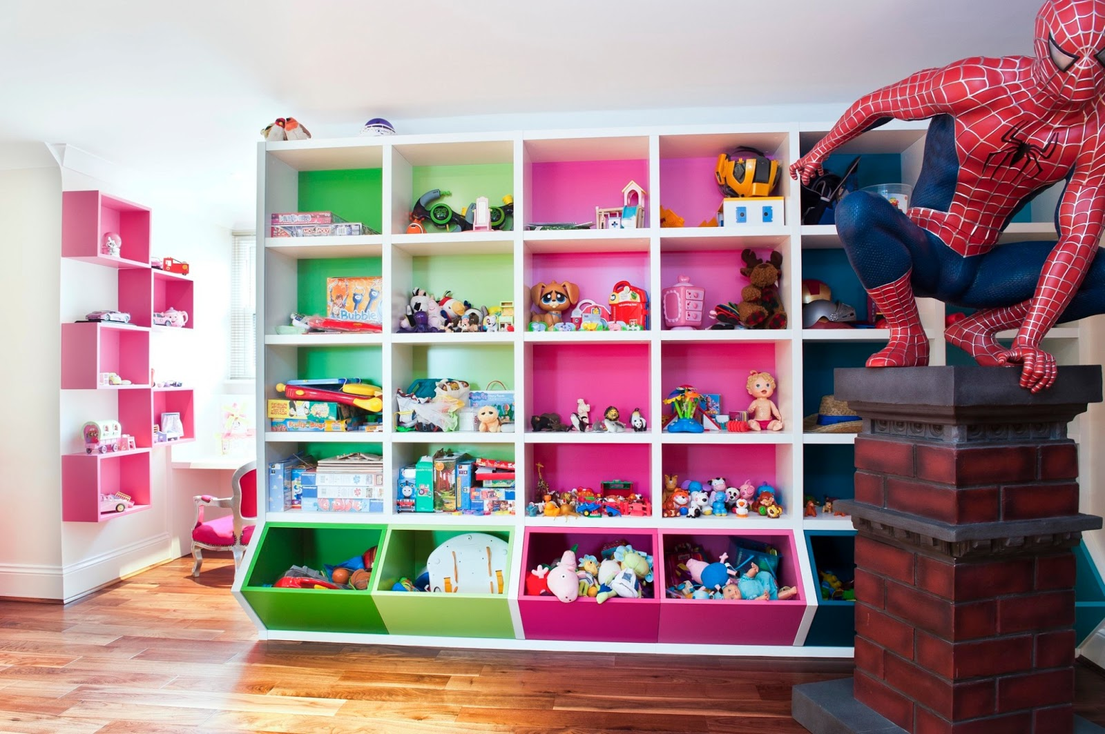 Construindo Minha Casa Clean Quartos Modernos De Meninos  ~ Organizando O Quarto De Brinquedos