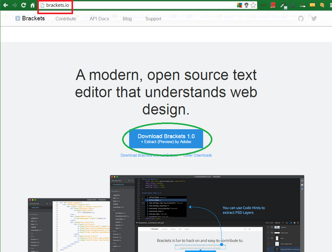 Powerful open-source Web Editor optimized for Web Design 1
