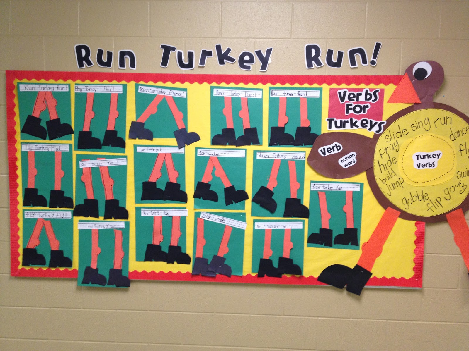 Run Turkey Run! - Tunstall's Teaching Tidbits