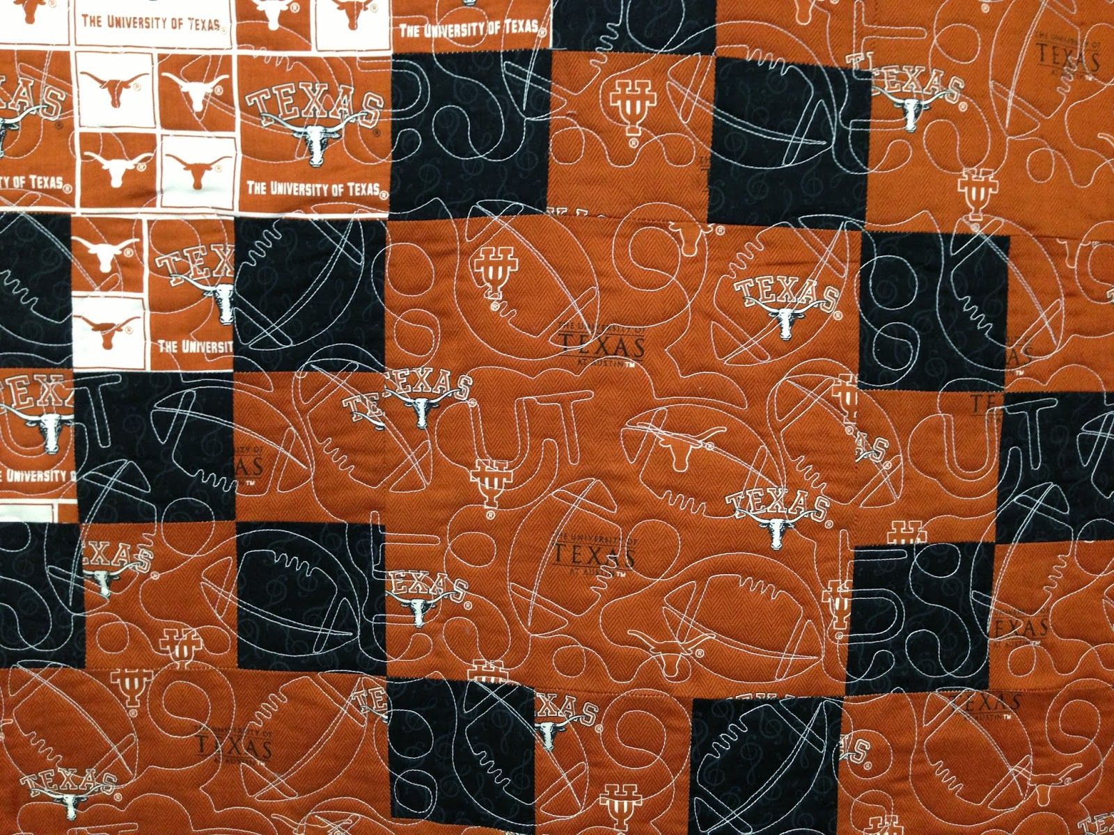 Shirley Martin University of Texas Quilt