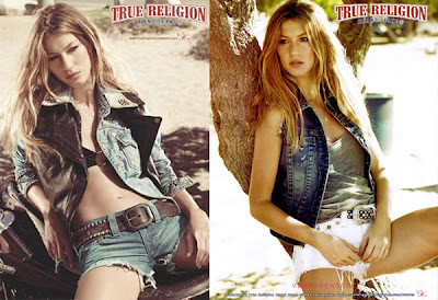 Gisele Bundchen True Religion