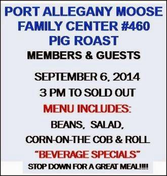 9-6 Pig Roast At Port Moose