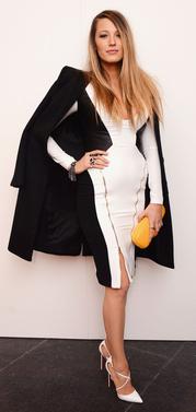 Tinute in alb si negru cu stil - tendinte 2015