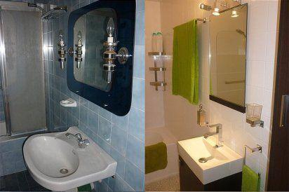 Tu hogar y t renueva tu ba o pintando azulejos for Cambiar azulejos bano