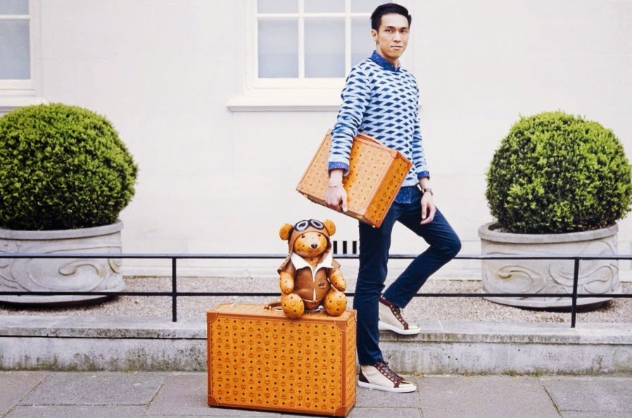 MCM Blogger Makeover Chelsea London Joseph Wong WHWearing whats-he-wearing.com