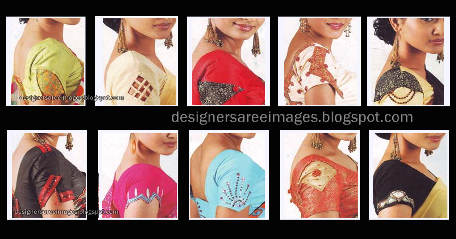 blouse designs for hands