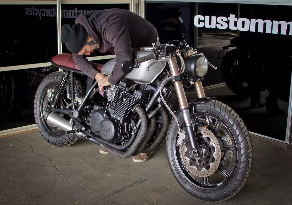 XS1100 by Tarmac   Inazuma caf   racer