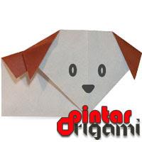 Cara Membuat Origami Anjing