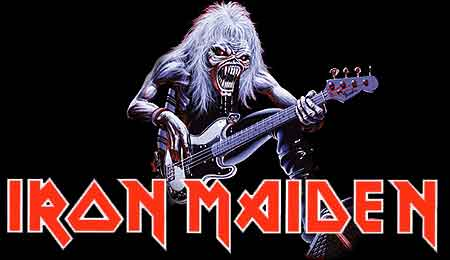 guitarrista de iron maiden: