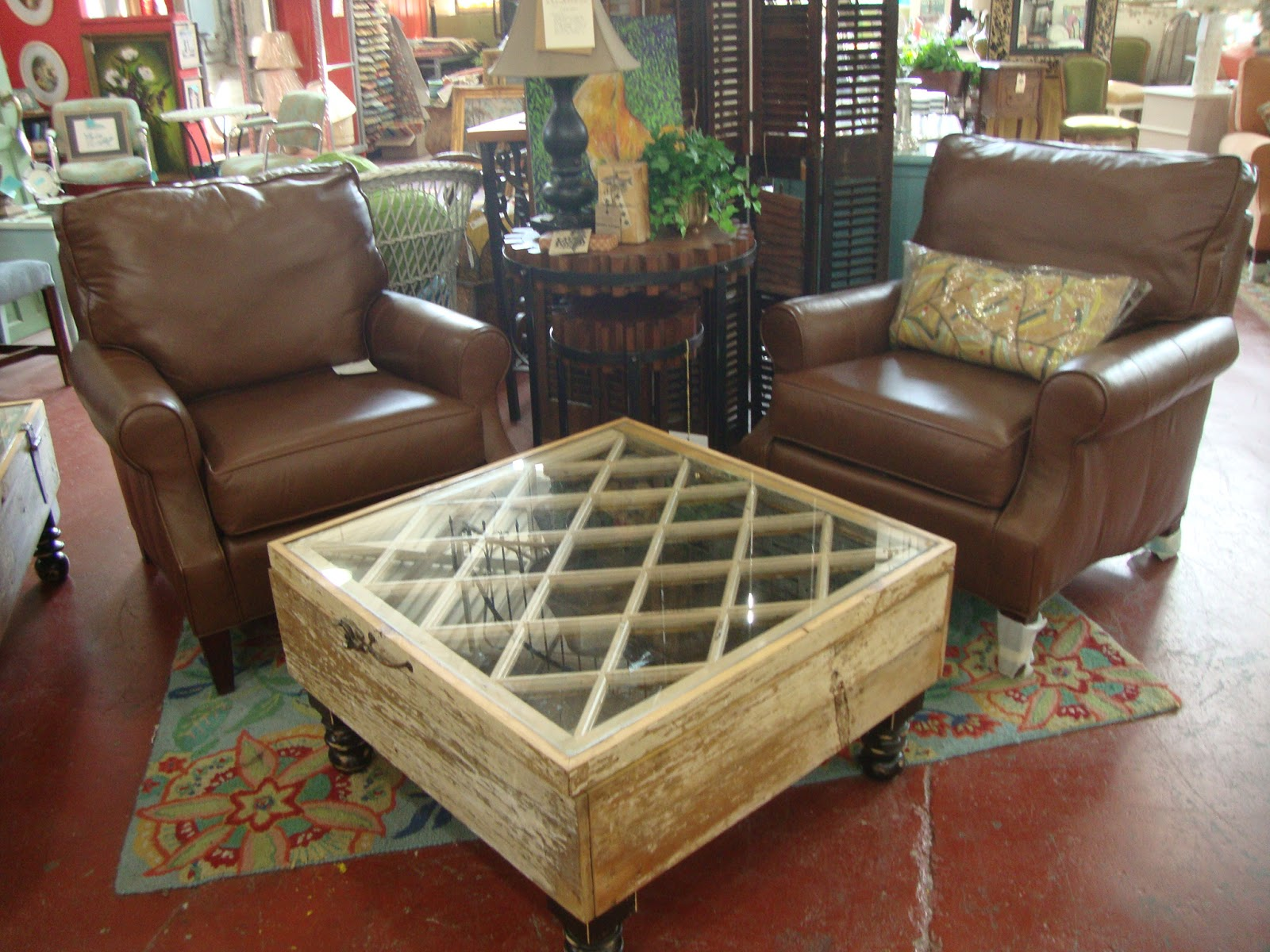 Black Dog Salvage   Architectural Antiques U0026 Custom Designs: Window Frame  Coffee Table Made By Salvage Dawgs Father/daughter Mike And Grace Whiteside!
