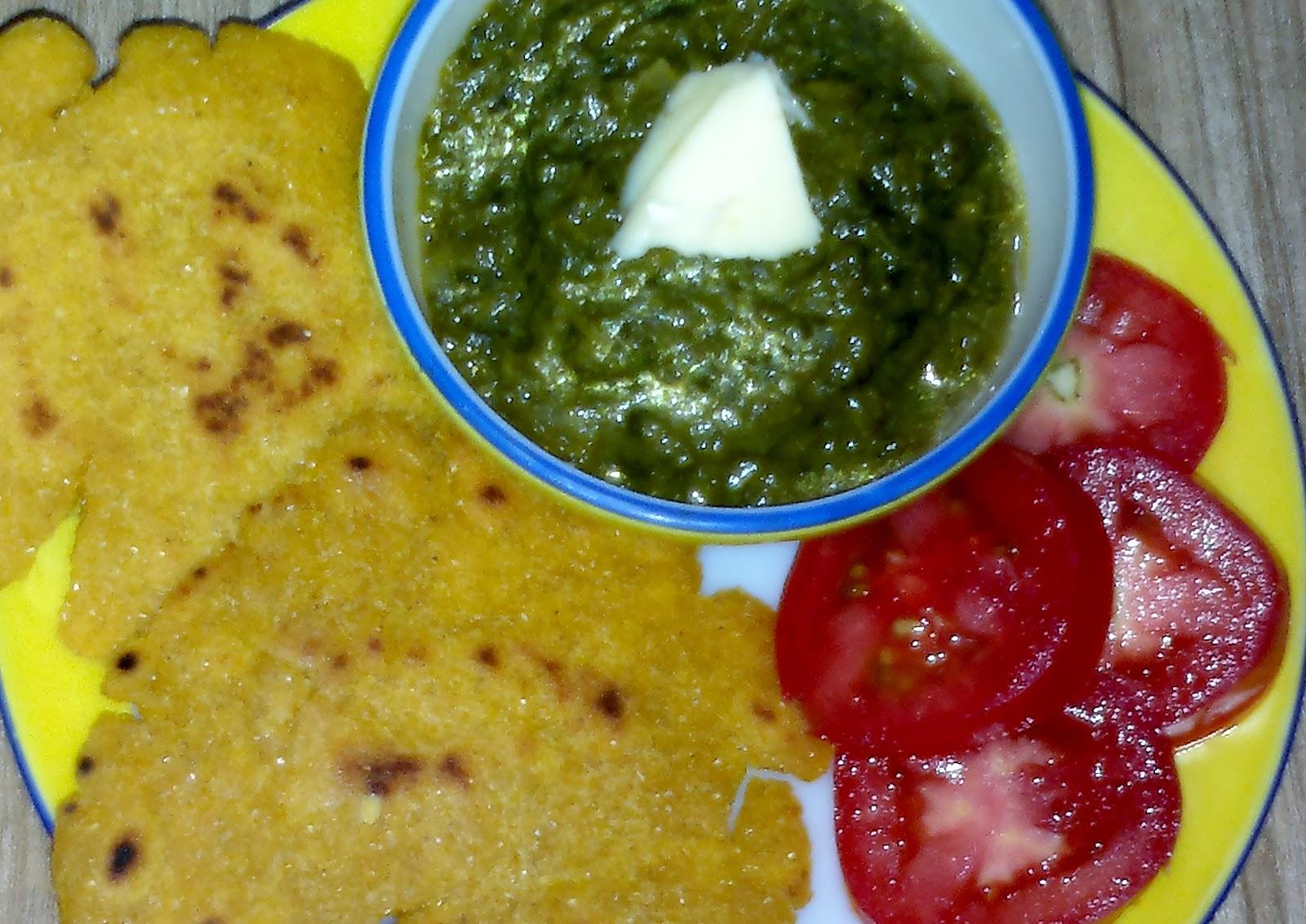Mazedar recipes sarson da saag te makki di roti sarson da saag te makki di roti forumfinder Choice Image