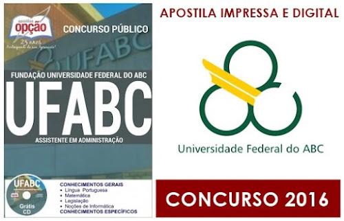 Apostila UFABC Universidade Federal do ABC 2016