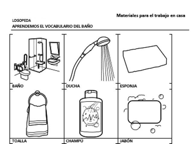 Colorea tus dibujos examen para preparatoria for Elementos para el bano