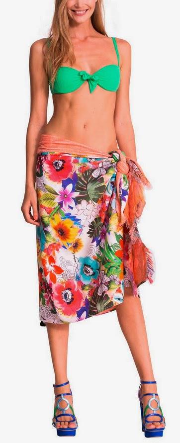 Jungle desigual kikoy toalla pareo - Desigual ropa de cama ...
