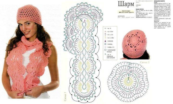 Patron Crochet Gorro y Bufanda - Patrones Crochet