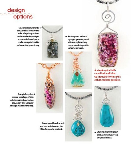 book review build your own wire pendants the beading