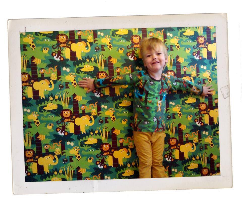 Een stoere jongenskamer met Jungle behang