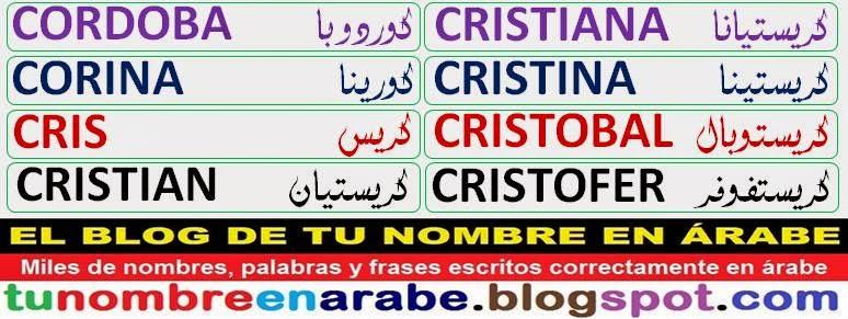 Imagenes de nombres para tatuajes: Cristian Cristiana Cristina Cristobal Cristofer