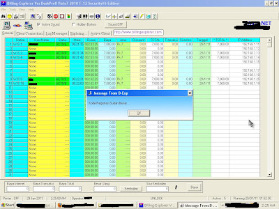 Billing Explorer DeskPro8 Vista 7