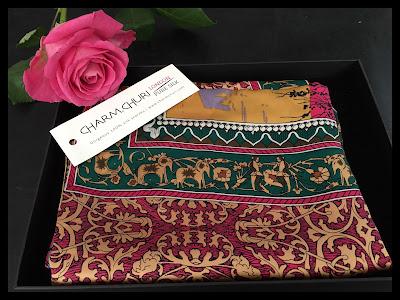CHarm Churi Silk Scarf, My Midlife Fashion